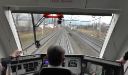 Pojechaliśmy pociągiem z Obłuża do centrum Gdyni w 13 minut