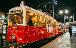 Świąteczny tramwaj wyjedzie na tory