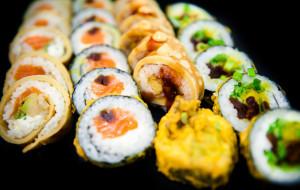 Sylwestrowy stół od New Kansai Sushi