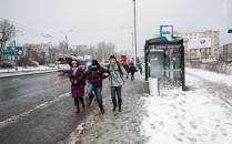 Wichura i śnieżyca w Trójmieście