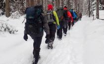 Szlak Wejherowski w zimowych warunkach
