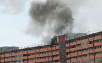 Dwa pożary mieszkań w falowcu na Przymorzu