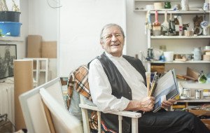 Włodzimierz Łajming: starszy człowiek więcej mówi szeptem