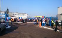 Pracownicy Lotos Kolej protestują w...