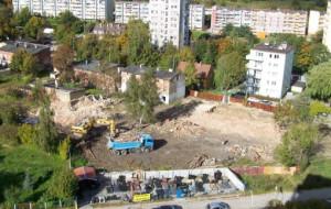 Nowa Słowackiego: trwają wyburzenia. Projektanci bronią rozwiązań na Hynka