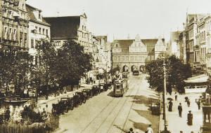 Na Targu Rakowym była pierwsza elektrownia tramwajowa