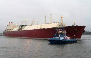 Pływający terminal na Zatoce Gdańskiej w 2021 roku
