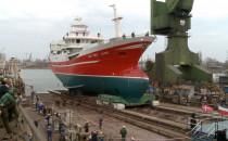 Zwodowano statek rybacki dla Duńczyków