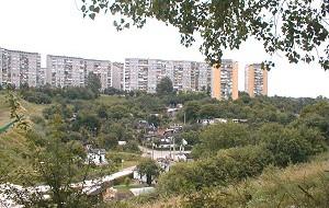Działki ogrodnicze w środku miasta