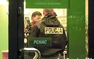 Policja szuka sprawców napadu na bank