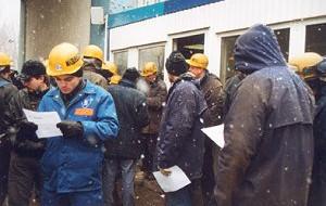 Trwa strajk w stoczni