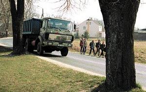 Bojano: krzyżowa droga do szkoły