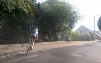 Niedzielni rowerzyści wyjechali na miasto....