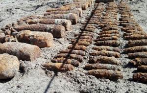 Saperzy zabezpieczyli 160 niewybuchów
