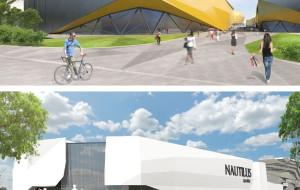 Dwa pomysły na zabudowę terenów przy stadionie w Letnicy