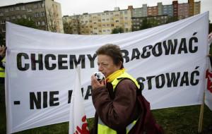 Strajk bezdomnych w Gdańsku