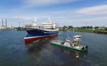 Trawler Rockall zwodowany w Naucie