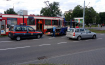 Kolejna kolizja z udziałem tramwaju