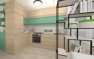 Dwa sposoby na subtelne wydzielenie aneksu kuchennego we wspólnym pomieszczeniu