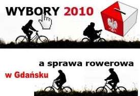 Wyniki ankiety rowerowej a wybory samorządowe w Gdańsku