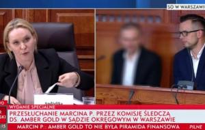 Marcin P. zeznawał przed komisją ds. Amber Gold