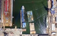 Trwa wydobycie statku Hordafor V w gdyńskiej Naucie