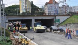 Zmiany w ruchu na modernizowanym skrzyżowaniu przy dworcu w Gdyni