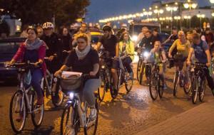 Po raz 10. pojadą nocą rowerami przez Gdynię