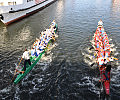 Smocze łodzie na Motławie popłyną dla dzieci
