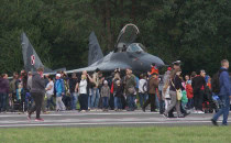Tłumy na pokazach lotniczych w Gdyni