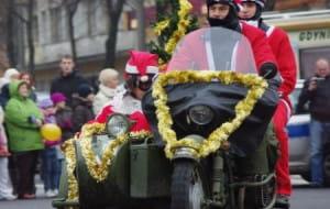 Mikołaje na Motocyklach: utrudnienia w ruchu
