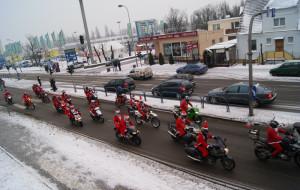 Mikołaje na Motocyklach  zdobyli Trójmiasto!
