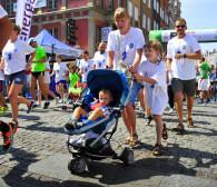 Bieg z wózkiem dziecięcym na 5 km lub w półmaratonie