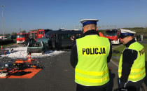 Symulacja wypadku drogowego na Autodromie