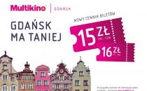 Nowy cennik biletów w Multikinie Gdańsk