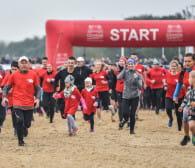3,5 tys. biegaczy na plaży w Brzeźnie