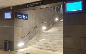 Dworzec we Wrzeszczu wreszcie zyskał monitory informacji pasażerskiej