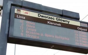 Błędne komunikaty na przystankach w Gdańsku. Wszystko przez prace naprawcze