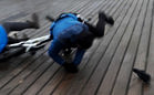 Rowerzysta potrącił ciężarną na molo