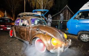Klasyczne auta będą straszyć w Halloween