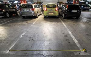 Miejsca parkingowe będą szersze
