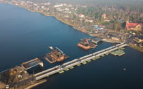 Most w Sobieszewie: budowa opóźniona o pół...