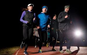 Nocne bieganie po Trójmieście