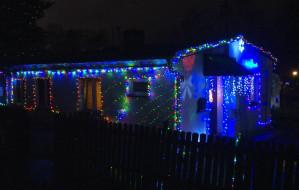 Świąteczne oświetlenie domów w Trójmieście