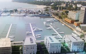 Firma z Gdańska zbuduje mieszkania i marinę na terenie po Dalmorze