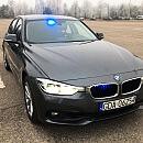 Przejechaliśmy się nieoznakowanym radiowozem BMW