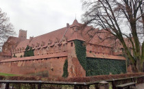 Malbork - największy zamek gotycki w Europie