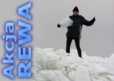 Półwysep Rewski zimą