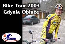 Bike Tour Gdynia; Obłuże 12.04.2003