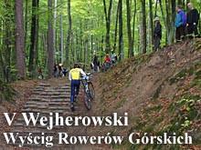 V Wejherowski Wyścig Rowerów Górskich (05.10.2003)
